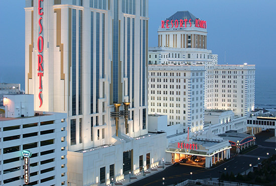 Resorts Casino Hotel, <small>Atlantic City, NJ</small>