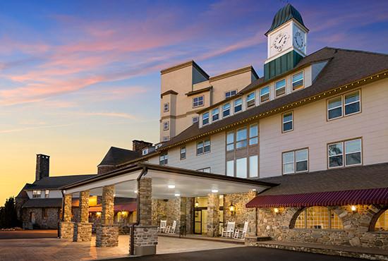 Pocono Manor Resort & Spa, <small>Pocono Manor, PA</small>
