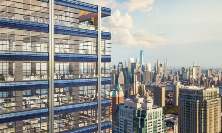 1 Willoughby Square Tower Tops Out