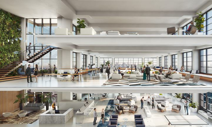 JEMB unveils new renderings of One Willoughby Square office tower in Downtown Brooklyn