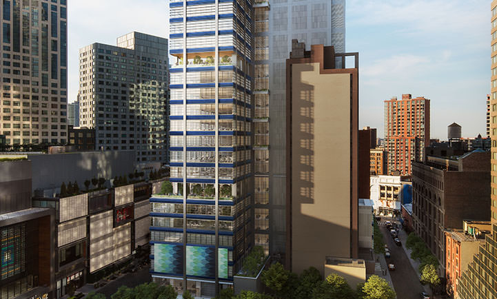 One Willoughby Square Begins Ascent Towards 495-Foot Pinnacle in Downtown Brooklyn