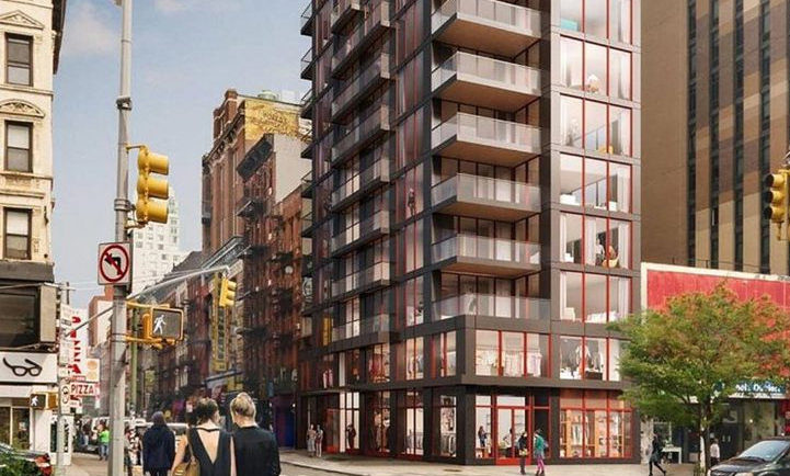 Construction Progresses Rapidly At 86 Delancey Street On The Lower East Side